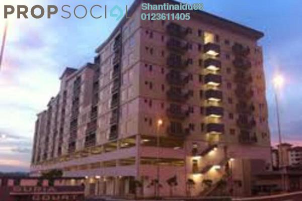 For Rent Condominium at Suria Court, Bandar Mahkota Cheras Freehold Unfurnished 3R/2B 1.2k