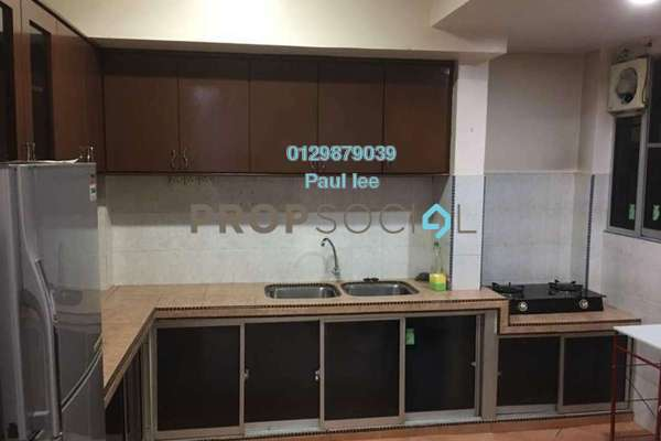 For Rent Apartment at D'Palma Apartment, Pusat Bandar Puchong Freehold Fully Furnished 3R/2B 1.4k