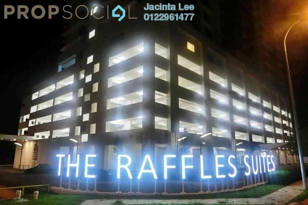 For Sale Condominium at The Raffles Suites, Johor Bahru Freehold Semi Furnished 3R/2B 390k