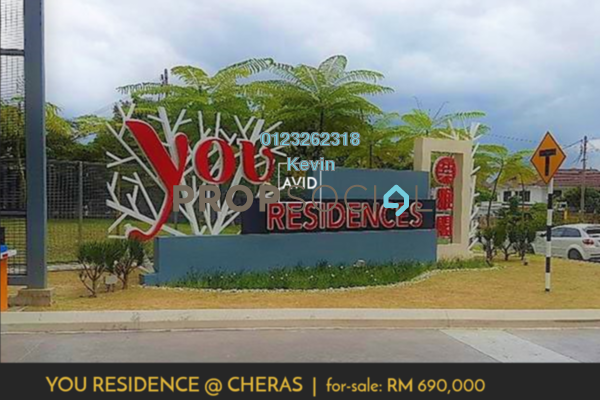 For Sale Condominium at You Residences @ You City, Batu 9 Cheras Freehold Semi Furnished 4R/2B 690k
