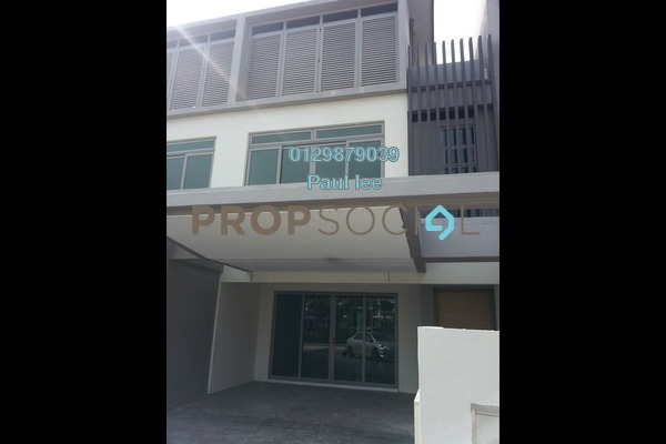 For Sale Terrace at D'Island, Puchong Freehold Unfurnished 6R/5B 1.2m