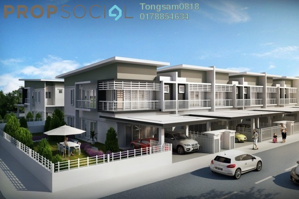 For Sale Terrace at Taman Dengkil Jaya, Dengkil Freehold Unfurnished 4R/4B 491k