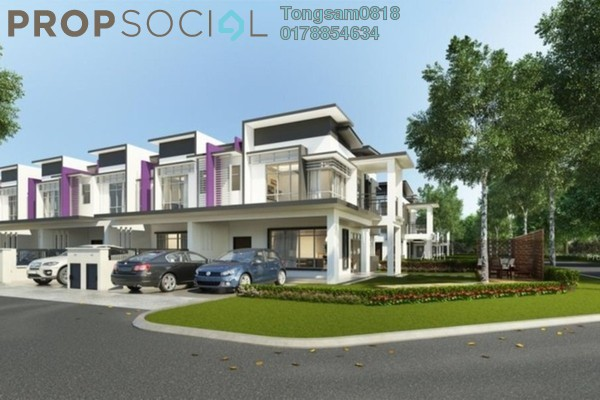 For Sale Terrace at Bangi Gateway, Bandar Baru Bangi Freehold Unfurnished 4R/4B 539k