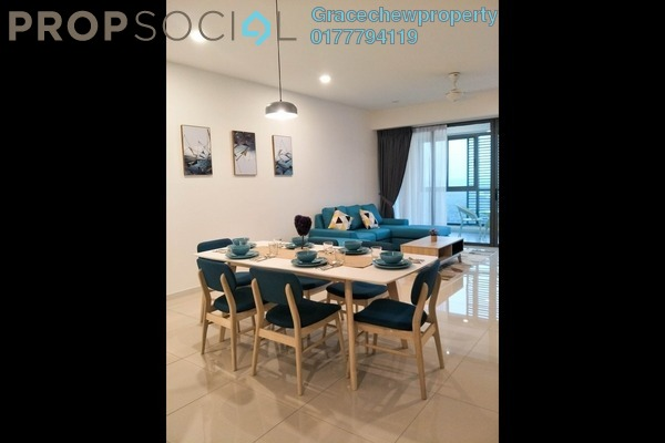 For Rent Condominium at Iskandar Residences, Medini Freehold Fully Furnished 3R/3B 3.5k