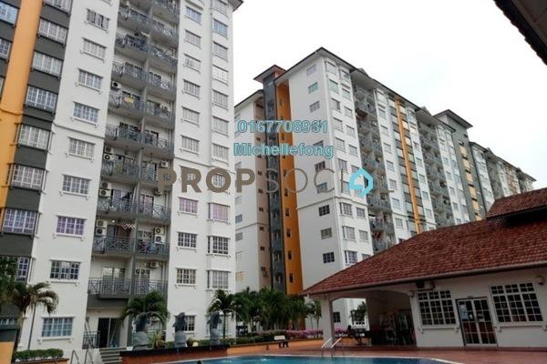 For Sale Apartment at Impian Senibong, Bandar Baru Permas Jaya Freehold Fully Furnished 3R/2B 270k