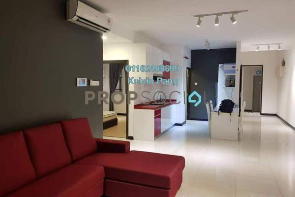For Rent Condominium at Vertiq, Gelugor Freehold Fully Furnished 3R/2B 2.6k