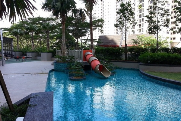 For Sale Condominium at Royal Regent, Dutamas Freehold Semi Furnished 3R/2B 618k