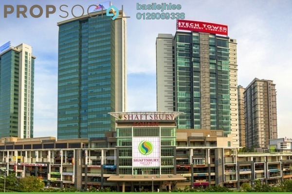 For Rent Apartment at Shaftsbury Square, Cyberjaya Freehold Semi Furnished 2R/1B 1.5k