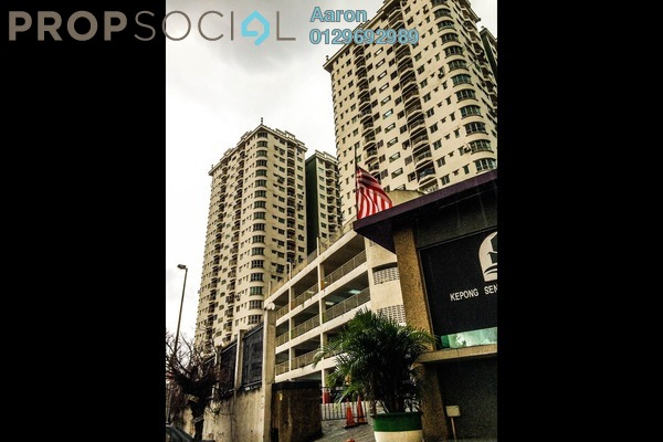 For Sale Condominium at Kepong Central Condominium, Kepong Freehold Semi Furnished 3R/2B 310k