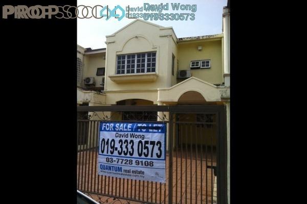 For Sale Terrace at USJ 4, UEP Subang Jaya Freehold Semi Furnished 3R/3B 820k