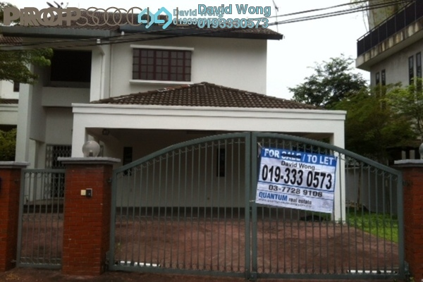 For Rent Bungalow at SS19, Subang Jaya Freehold Semi Furnished 5R/7B 5k