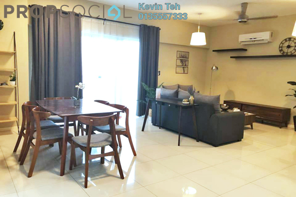 For Rent Condominium at Villa Orkid, Segambut Freehold Fully Furnished 3R/3B 3k