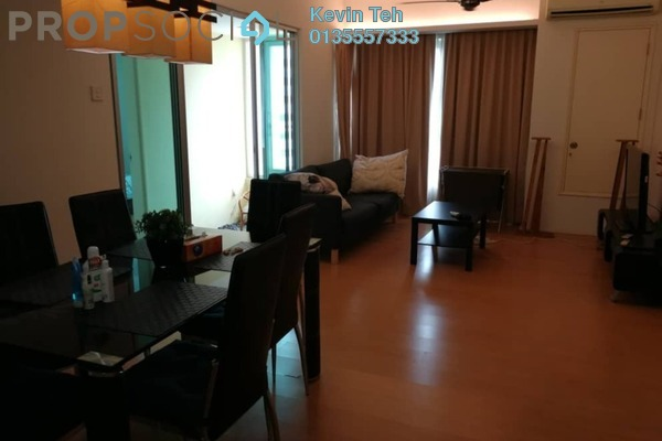 For Rent Condominium at i-Zen Kiara I, Mont Kiara Freehold Fully Furnished 2R/2B 2.85k