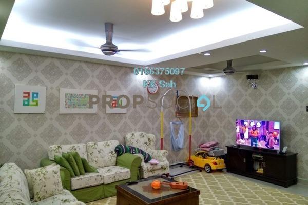 For Sale Link at Section 3, Bandar Mahkota Cheras Freehold Semi Furnished 4R/3B 640k