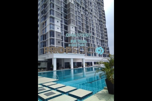 For Sale Condominium at Shamelin Star Serviced Residences, Cheras Freehold Semi Furnished 3R/2B 638k
