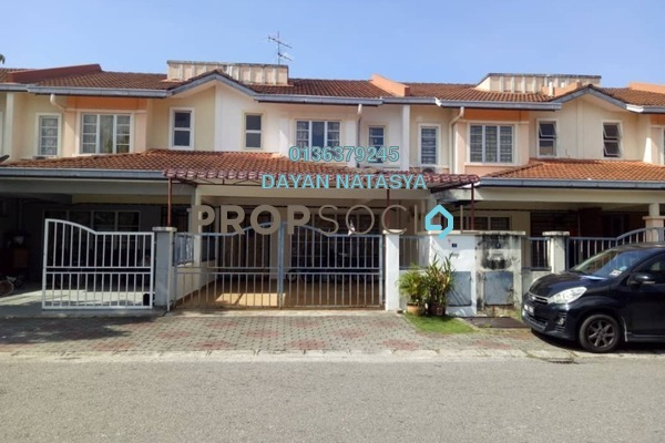 For Sale Terrace at Taman Sutera, Kajang Freehold Semi Furnished 4R/3B 540k