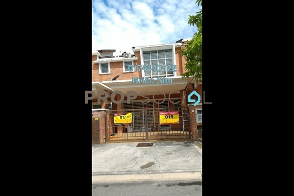For Sale Terrace at Palm Walk, Bandar Sungai Long Freehold Unfurnished 4R/3B 685k