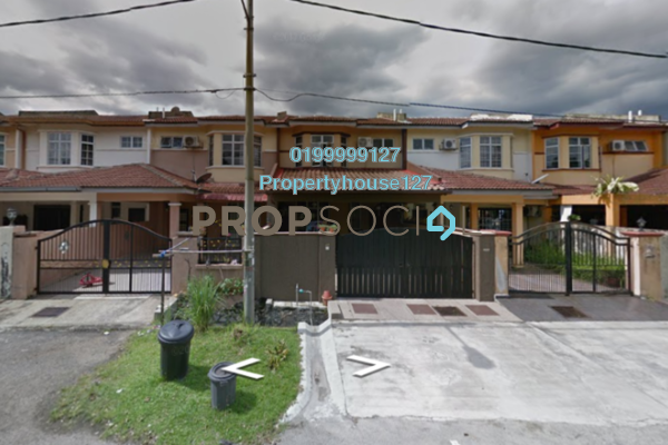 For Sale Terrace at Taman Lestari Putra, Bandar Putra Permai Leasehold Semi Furnished 4R/3B 399k