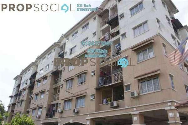 For Sale Apartment at Seri Suria Apartment, Kota Kemuning Freehold Semi Furnished 3R/2B 200k