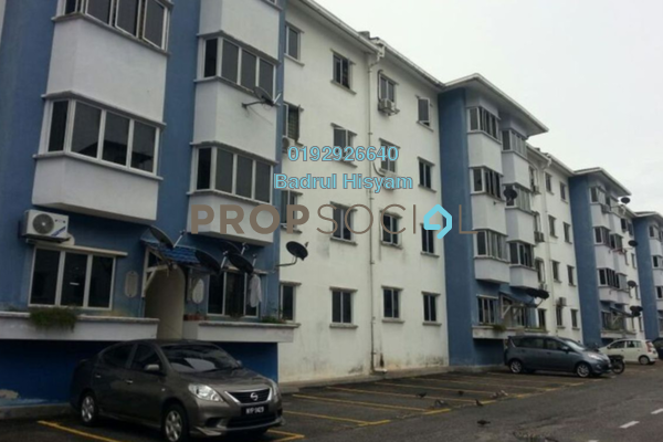 For Sale Apartment at Pesona Villa, Kemensah Freehold Unfurnished 3R/2B 331k