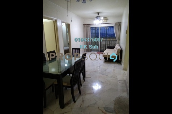 For Rent Apartment at Taman Puncak Jalil, Bandar Putra Permai Freehold Fully Furnished 5R/3B 1.2k