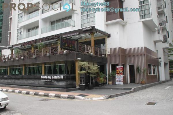 For Rent Condominium at Bintang Goldhill, KLCC Freehold Fully Furnished 1R/1B 2.95k