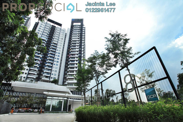 For Sale Condominium at Residence 8, Old Klang Road Freehold Unfurnished 4R/4B 567k