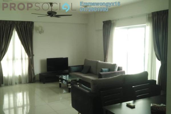 For Rent Condominium at Villa Orkid, Segambut Freehold Semi Furnished 3R/2B 2.6k