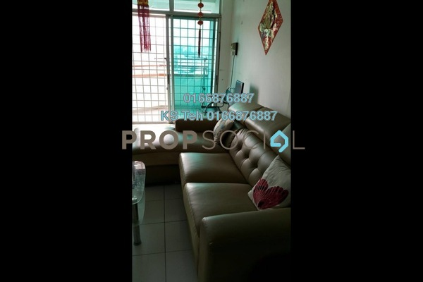 For Rent Condominium at Casa Ria, Cheras Freehold Fully Furnished 2R/2B 2k