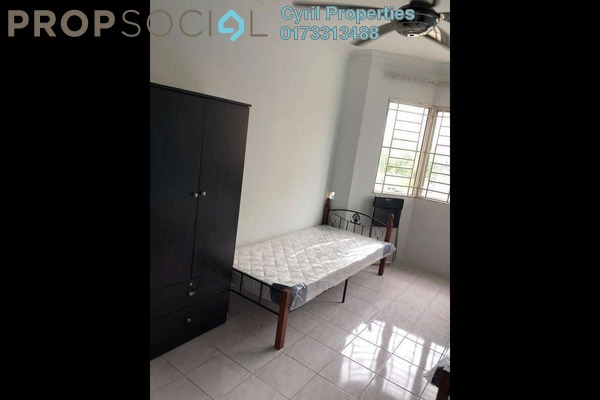 For Rent Apartment at Damai Apartment U4, Shah Alam Freehold Fully Furnished 3R/2B 1.8k