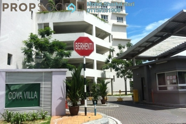 For Sale Condominium at Cova Villa, Kota Damansara Freehold Unfurnished 3R/2B 520k