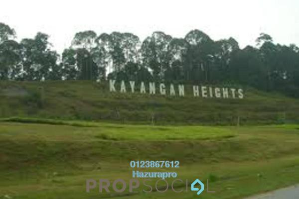 For Sale Land at Kayangan Heights, Shah Alam Freehold Unfurnished 0R/0B 1.59m