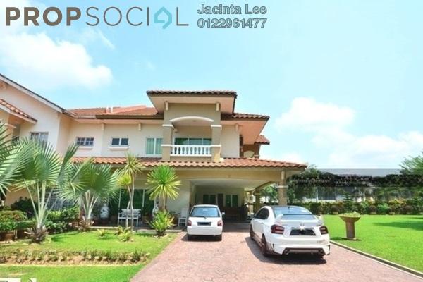 For Sale Semi-Detached at Kelab Golf Sultan Abdul Aziz Shah, Shah Alam Freehold Semi Furnished 5R/4B 2.03m