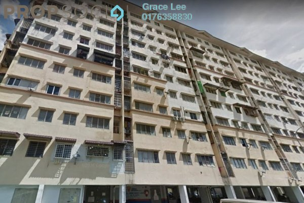 For Sale Apartment at Teratai Apartment, Bandar Mahkota Cheras Freehold Unfurnished 3R/2B 188k