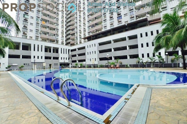 For Sale Condominium at Kinrara Mas, Bukit Jalil Freehold Semi Furnished 3R/2B 390k