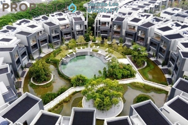 For Sale Condominium at Mirage By The Lake, Cyberjaya Freehold Semi Furnished 2R/2B 414k