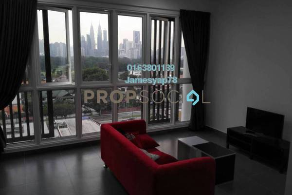 For Sale Serviced Residence at Sentrio Suites, Desa Pandan Freehold Fully Furnished 2R/2B 760k