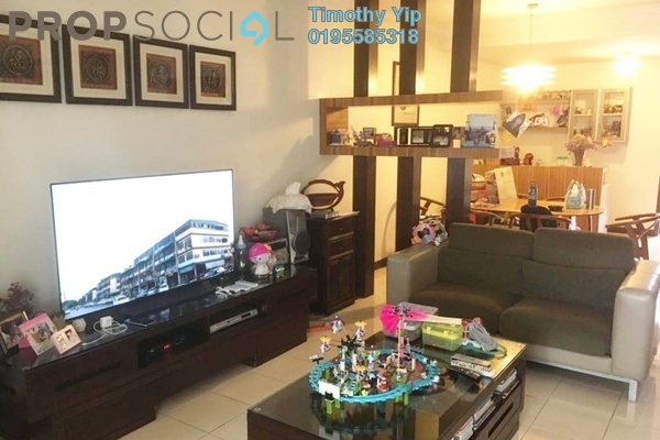 For Sale Terrace at Bukit Segar Jaya, Cheras Freehold Fully Furnished 5R/4B 960k