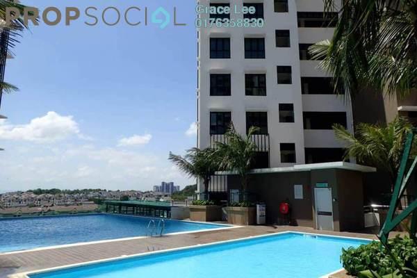 For Sale Condominium at Lake Vista Residence, Bandar Tun Hussein Onn Freehold Unfurnished 3R/2B 630k
