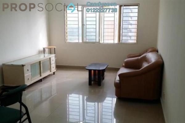 For Rent Condominium at Cengal Condominium, Bandar Sri Permaisuri Freehold Semi Furnished 3R/2B 1.25k