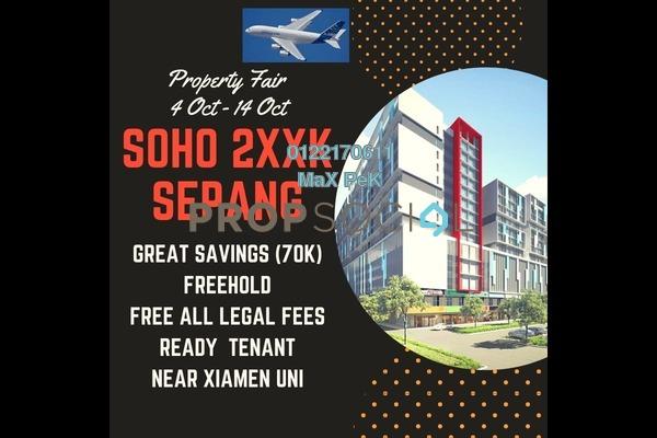 For Sale SoHo/Studio at Core SoHo Suites, Sepang Freehold Semi Furnished 1R/1B 260k