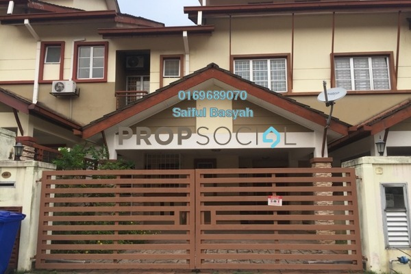 For Sale Terrace at Andira, Denai Alam Freehold Semi Furnished 4R/4B 850k