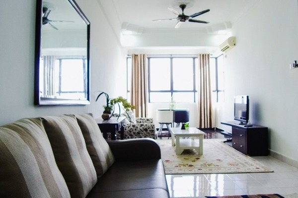 For Sale Condominium at Vista Millennium, Puchong Freehold Fully Furnished 3R/2B 350k