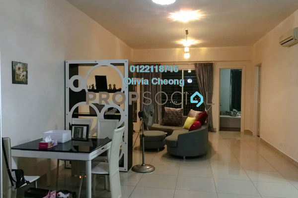 For Rent Serviced Residence at Subang Olives, Subang Jaya Freehold Fully Furnished 3R/3B 3.5k