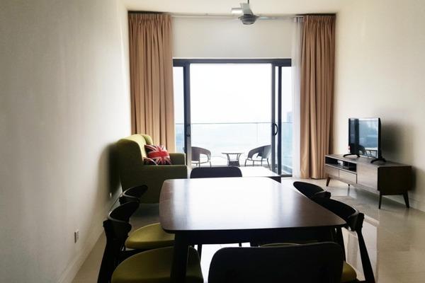 For Sale Serviced Residence at Reflection Residences, Mutiara Damansara Freehold Semi Furnished 3R/2B 950k