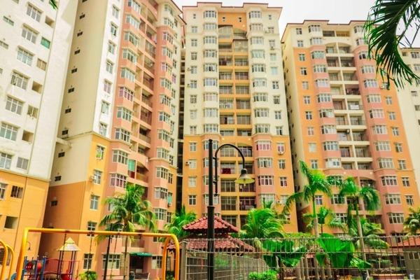 For Rent Condominium at Sri Palma Villa Condominium, Mantin Freehold Semi Furnished 3R/3B 650translationmissing:en.pricing.unit