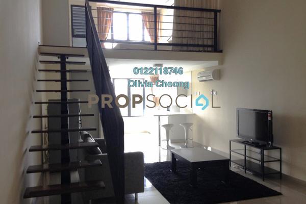 For Rent SoHo/Studio at Subang SoHo, Subang Jaya Freehold Fully Furnished 1R/1B 1.7k