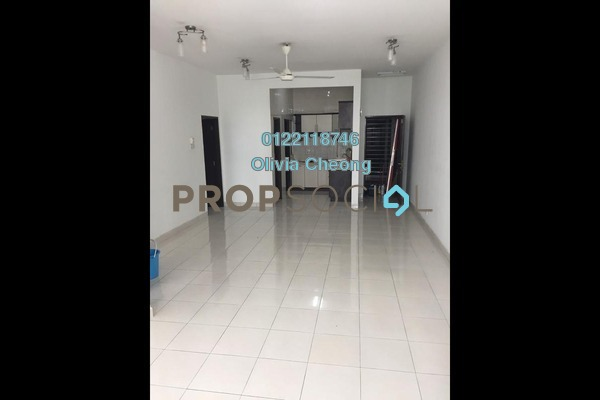 For Rent Apartment at Casa Tiara, Subang Jaya Freehold Semi Furnished 3R/2B 1.7k