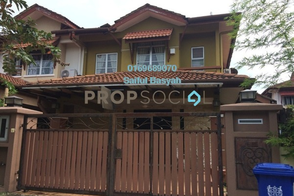 For Sale Terrace at Jasmin, Denai Alam Freehold Semi Furnished 4R/3B 1m