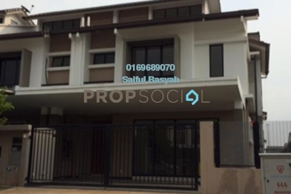 For Sale Terrace at Saffron Hills, Denai Alam Freehold Unfurnished 4R/3B 1.18m